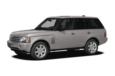3/4 Front Glamour 2008 Land Rover Range Rover