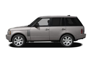 90 Degree Profile 2008 Land Rover Range Rover