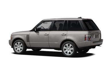 Surround 3/4 Rear - Drivers Side  2008 Land Rover Range Rover
