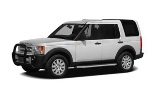 3/4 Front Glamour 2008 Land Rover LR3