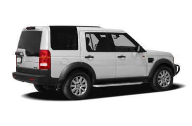3/4 Rear Glamour  2008 Land Rover LR3