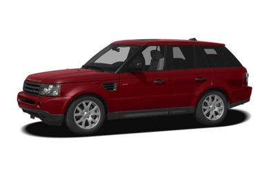 3/4 Front Glamour 2008 Land Rover Range Rover Sport