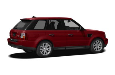 3/4 Rear Glamour  2008 Land Rover Range Rover Sport