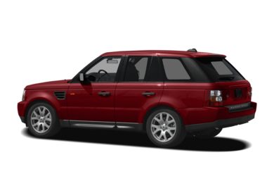 Surround 3/4 Rear - Drivers Side  2008 Land Rover Range Rover Sport
