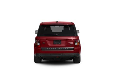 Surround Rear Profile 2008 Land Rover Range Rover Sport