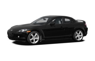 3/4 Front Glamour 2008 Mazda RX-8