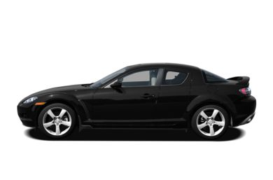 90 Degree Profile 2008 Mazda RX-8