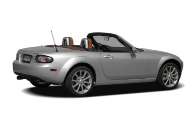 3/4 Rear Glamour  2008 Mazda MX-5
