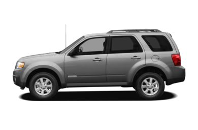 90 Degree Profile 2008 Mazda Tribute