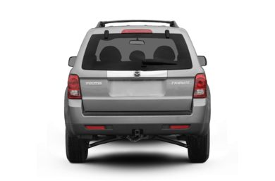 Rear Profile  2008 Mazda Tribute