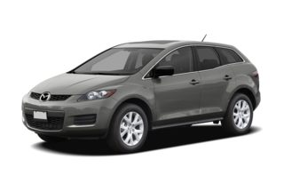 3/4 Front Glamour 2008 Mazda CX-7