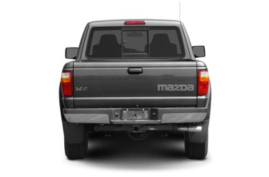 Rear Profile  2008 Mazda B4000