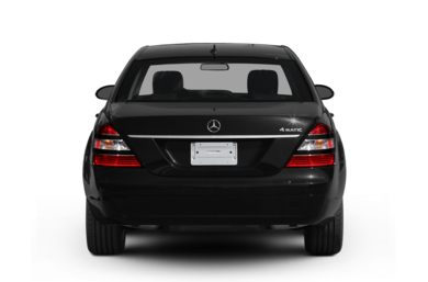 Rear Profile  2008 Mercedes-Benz S600