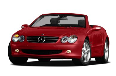 3/4 Front Glamour 2008 Mercedes-Benz SL600