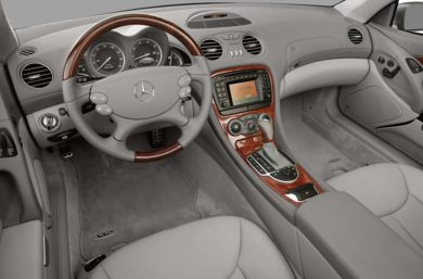 Interior Profile  2008 Mercedes-Benz SL600