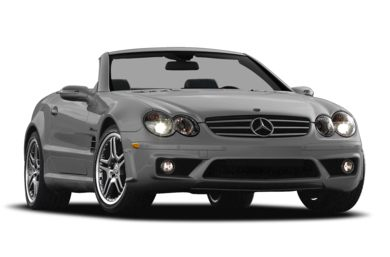 3/4 Front Glamour 2008 Mercedes-Benz SL65 AMG