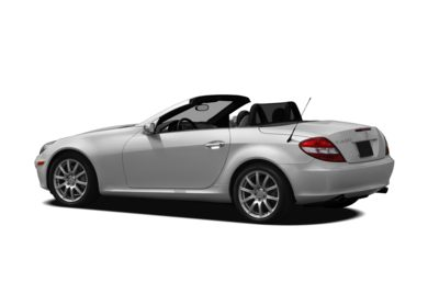 Surround 3/4 Rear - Drivers Side  2008 Mercedes-Benz SLK350