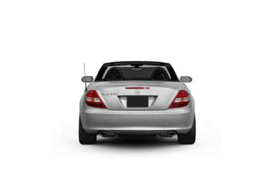 Surround Rear Profile 2008 Mercedes-Benz SLK350