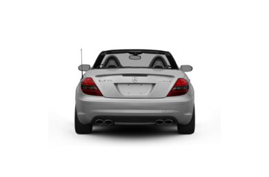 Surround Rear Profile 2008 Mercedes-Benz SLK55 AMG