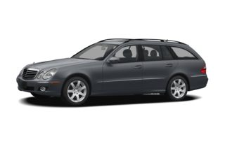 3/4 Front Glamour 2008 Mercedes-Benz E350