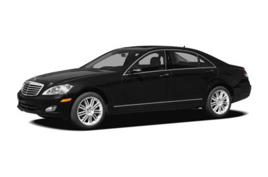 3/4 Front Glamour 2008 Mercedes-Benz S550