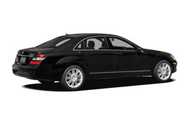 3/4 Rear Glamour  2008 Mercedes-Benz S550
