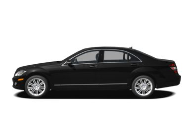 90 Degree Profile 2008 Mercedes-Benz S550