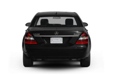 Rear Profile  2008 Mercedes-Benz S550