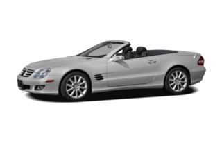 3/4 Front Glamour 2008 Mercedes-Benz SL550