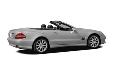 3/4 Rear Glamour  2008 Mercedes-Benz SL550