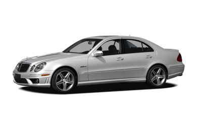 3/4 Front Glamour 2008 Mercedes-Benz E63 AMG