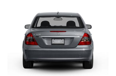 Rear Profile  2008 Mercedes-Benz E320 BLUETEC
