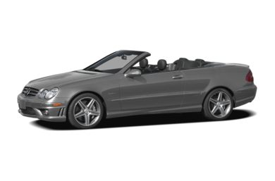 3/4 Front Glamour 2008 Mercedes-Benz CLK63 AMG