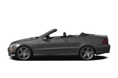 90 Degree Profile 2008 Mercedes-Benz CLK63 AMG