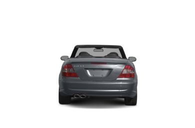 Surround Rear Profile 2008 Mercedes-Benz CLK63 AMG