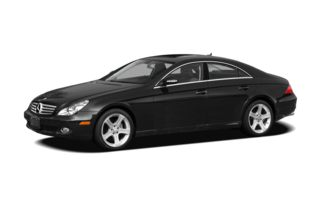 3/4 Front Glamour 2008 Mercedes-Benz CLS550