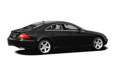 3/4 Rear Glamour  2008 Mercedes-Benz CLS550