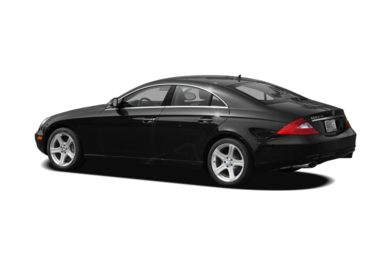 Surround 3/4 Rear - Drivers Side  2008 Mercedes-Benz CLS550