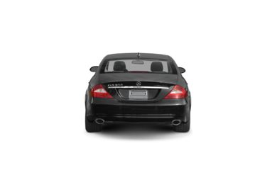 Surround Rear Profile 2008 Mercedes-Benz CLS550