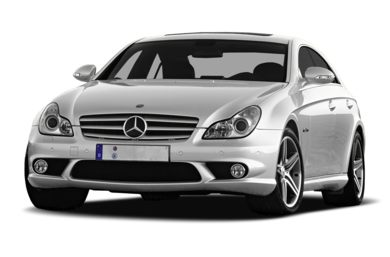 3/4 Front Glamour 2008 Mercedes-Benz CLS63 AMG