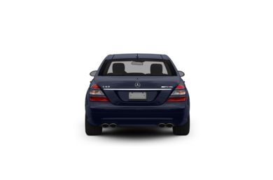 Surround Rear Profile 2008 Mercedes-Benz S63 AMG
