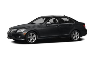3/4 Front Glamour 2008 Mercedes-Benz C300