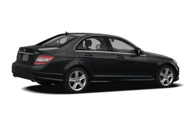 3/4 Rear Glamour  2008 Mercedes-Benz C300