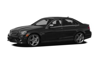 3/4 Front Glamour 2008 Mercedes-Benz S63 AMG