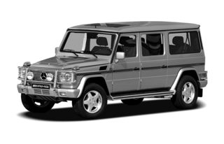 3/4 Front Glamour 2008 Mercedes-Benz G55 AMG