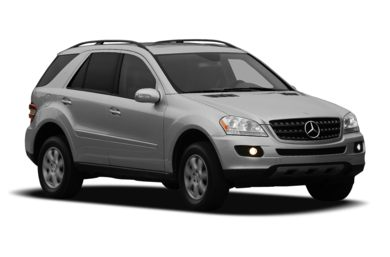 3/4 Front Glamour 2008 Mercedes-Benz ML350