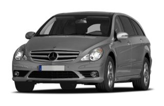 3/4 Front Glamour 2008 Mercedes-Benz R350