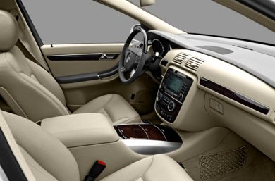 Interior Profile  2008 Mercedes-Benz R350