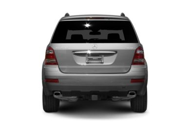 Rear Profile  2008 Mercedes-Benz GL450