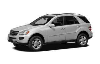 3/4 Front Glamour 2008 Mercedes-Benz ML320